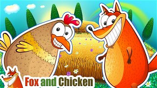 Jack and Jill - New cartoon. Songs for children | Fox and Chicken