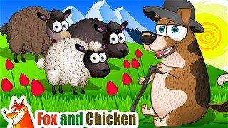 Baa Baa Black Sheep - Simple Songs | Fox and Chicken