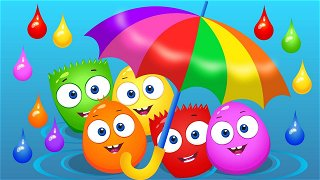 Learn Colors Green and Yellow - Educational Cartoons Online | Op & Bob