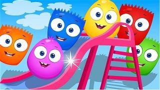 The elevator - Educational Cartoons | Op & Bob