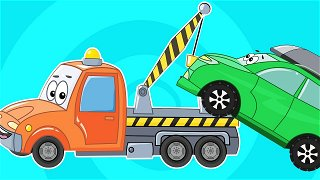 Fixed the tow truck - cartoon about cars | Be-Be's Workshop