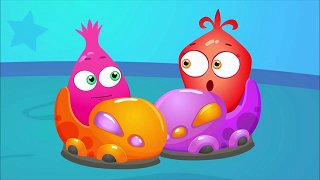 Road safety rules - Funny Cartoons for Kids & Babies | Op & Bob
