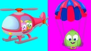 Light and Heavy - cartoon videos | Op & Bob