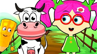 How To Draw Cow - Cartoons Online | Seona and Oly