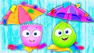 Solid and Liquid - Funny Cartoons for Kids & Babies | Op & Bob