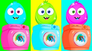 Careless and Tidy - Educational Videos for Toddlers | Op & Bob