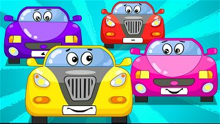 The modern vehicles - Educational cartoons. Cars for kids | Be-Be's Workshop