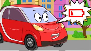 Be-Be resque the electric car - Videos For Kids | Be-Be's Workshop
