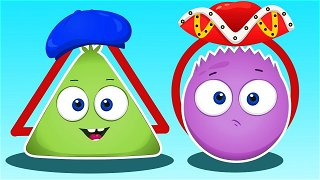 Triangular Round - Educational cartoons | Op and Bob