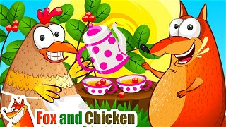 If you're happy and you know it clap your hands - Kids cartoon   Fox and Chicken