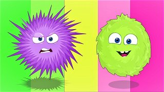 FLUFFY SPIKY - Funny Cartoons | Op and Bob