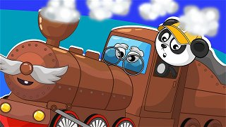 How Be-Be helped the train - educative cartoon | Be-Be's Workshop