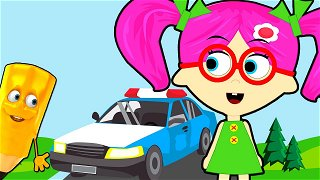 How To Draw Police car - Videos For Kids   Seona and Oly