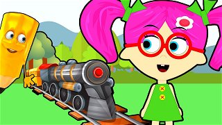 How To Draw Train for kids - cartoon channel | Seona and Oly