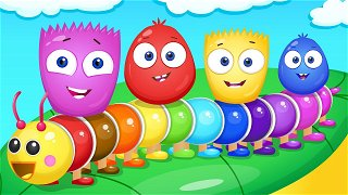 Learn colors Red and Green - Funny Stories For Kids | Op & Bob