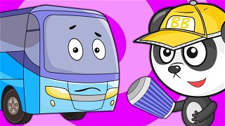 The Sneezing Bus - Bus Videos For Kids | Be-Be's Workshop