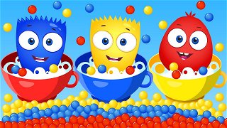 Healthy and Unhealthy - Hilarious Cartoon for Babies   Op & Bob