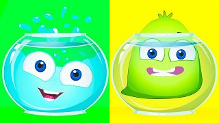 Liquid and Dense - Cartoons For Babies   Op & Bob