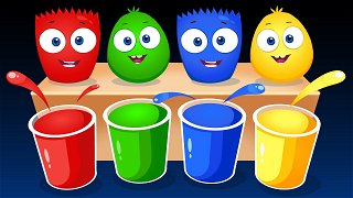 Learn Colors Green Orange and Brown - Funny Cartoons for Kids & Babies   Op & Bob