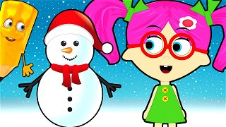 How To Draw Snowman - Cartoons for kids | Seona and Oly