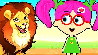 How To Draw Lion - Online Cartoons | Seona and Oly