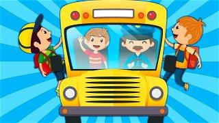 The Wheels on The Bus - Online Cartoons | Nursery Rhymes