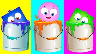 Colored Transparent - Videos For Kids   Op and Bob
