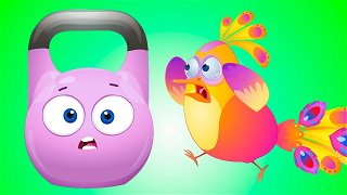Static and Dynamic - Cartoons for kids   Op & Bob