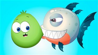 Predator and Herbivore - Videos For Kids | Op & Bob