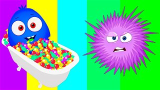 Children's Story about viruses - For Kids Online   Op & Bob