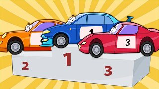 Сar transporter brought racing cars to competitions - Funny Cartoons | Be-Be's Workshop