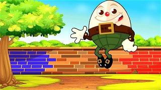Humpty Dumpty - Kids Videos | Nursery Rhymes